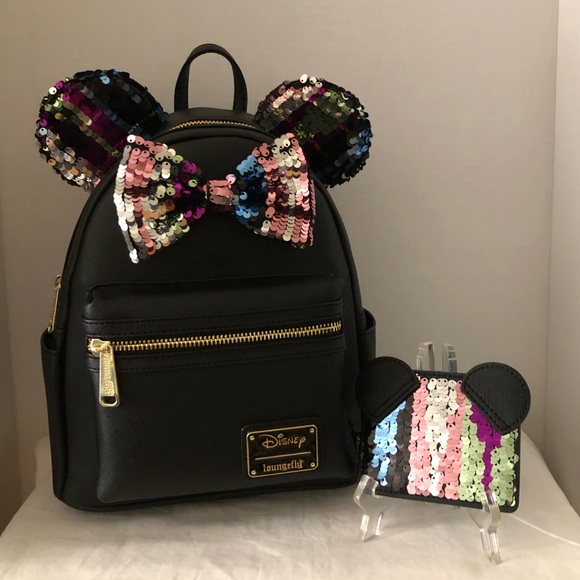 Disney Minnie Mouse Sequin Mini Backpack